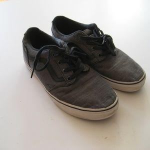 Men's VANS sneakers shoes gray sz 8